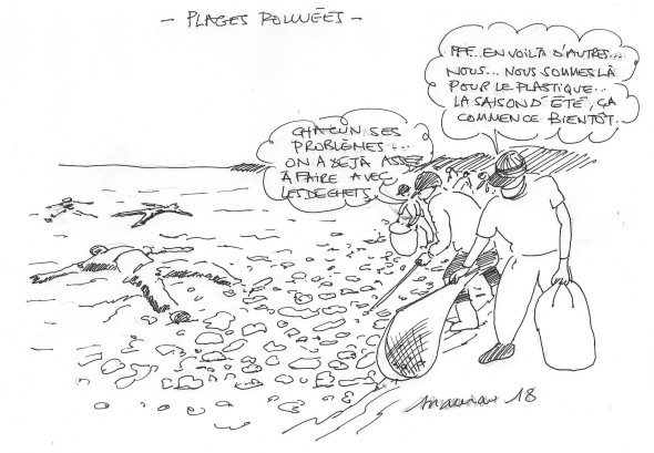 plage plastique 001
